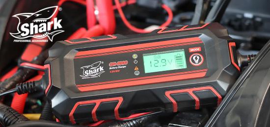 SHARK - inteligentní nabíječka baterií