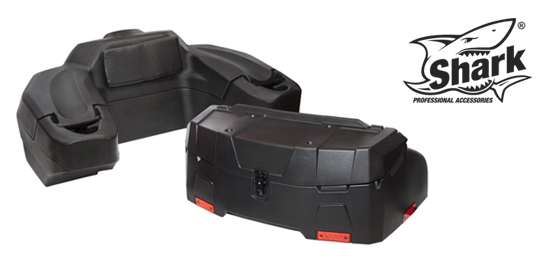 SHARK - plastové a textilní  ATV boxy