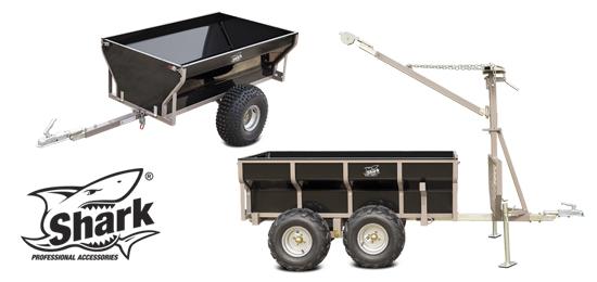 SHARK - profesionální vozíky modelové řady wood