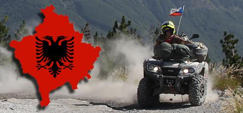 Ostrý test Blade 1000i LT 1400 km v Albánii
