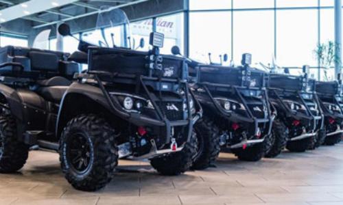 TGB Blade 1000i LT EPS pro polskou armádu