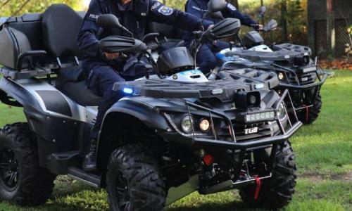 Říční policie ve Wroclawi dostala nové čtyřkolky TGB